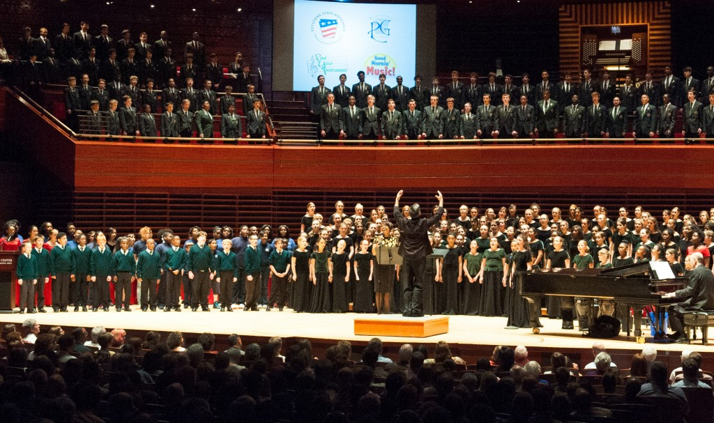 The choirs at Gala