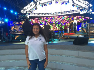 Anna Guaracao of Pennsylvania Girlchoir can't wait to see Juares here!