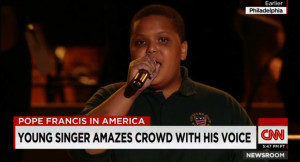 Bobby Hill of Keystone State Boychoir on CNN