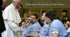 PG and KSB following in the footstgeps of Pope Francis
