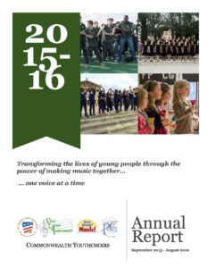 Cover of 2015-2016 Annual Report and Strategic Plan