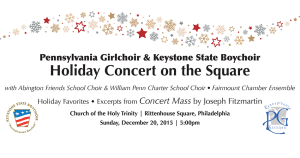 Holiday Concert 2015 - December 20