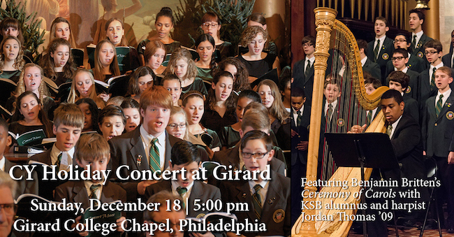 CY Holiday Concert at Girard College